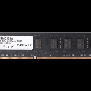 2-POWER Μνήμη RAM DDR3 Dimm 8GB 1066/1333/1600 MHz