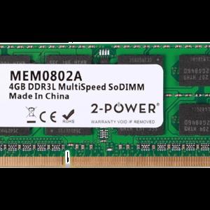 2-POWER Μνήμη RAM DDR3L SoDimm 4GB 1066/1333/1600MHz