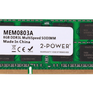 2-POWER Μνήμη RAM DDR3L SoDimm 8GB 1066/1333/1600 MHz
