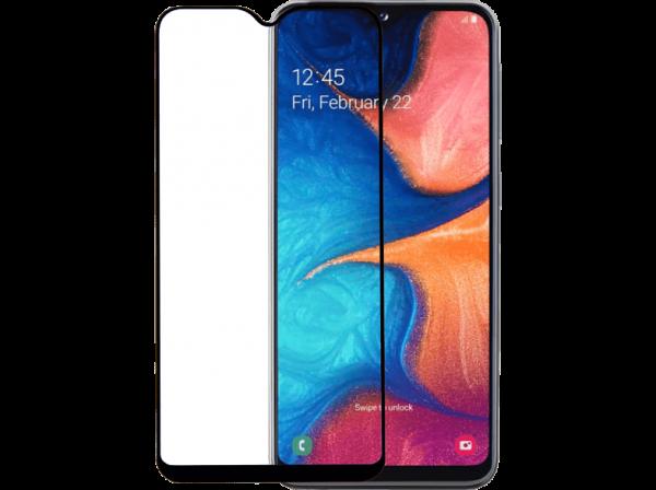2SKINZ Full Face Tempered Glass Samsung Galaxy A20e Black