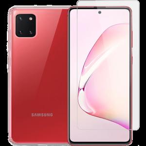 2SKINZ Tempered Glass μαζί με TPU θήκη Transparent για Samsung Galaxy Note 10 Lite