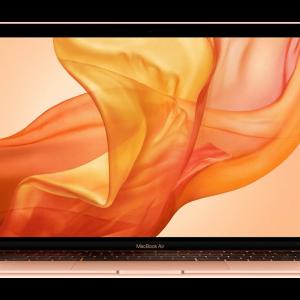 APPLE MacBook Air 13 Retina (Mid 2019) Intel Core i5 / 8GB / 256GB SSD / Touch ID / Gold – MVFN2GR/A