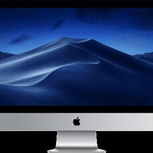 APPLE iMac 27 Retina 5K Intel Core i5 8ης γενιάς/ 8GB/ 1TB Fusion Drive/ Radeon Pro 570X – MRQY2GR