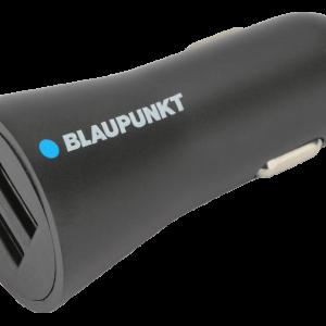 BLAUPUNKT BP-CC2DB 24A Car Charger 2 USB Dual 5V 2.4A Black