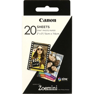 CANON Zink Paper 20 sheets for Zoe mini