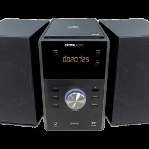 CRYSTAL AUDIO HBT-1 Mini Hifi Bluetooth Black