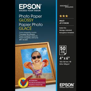 EPSON 4 x 6 Photo Paper Glossy 50 Φύλλα (200gsm) – (C13S042547)