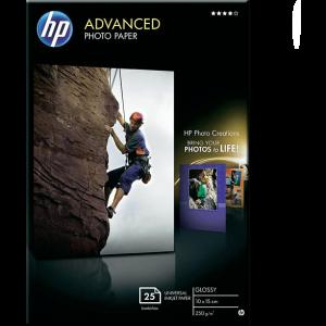 HEWLETT PACKARD Advanced Glossy Photo Paper Snapshot size support – (Q8691A)
