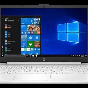 HP Notebook 15S-fq1000nv Intel Core i3-1005G1 / 4GB / 256GB SSD / Intel UHD Graphics
