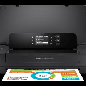 HP OfficeJet 202 Mobile– Φορητός Inkjet εκτυπωτής