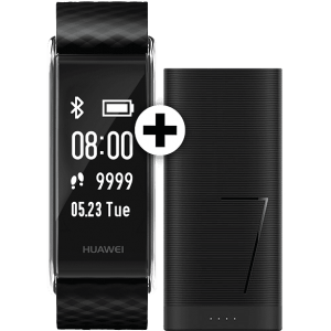 HUAWEI Color Band A2 Black μαζί με CP07 Powerbank