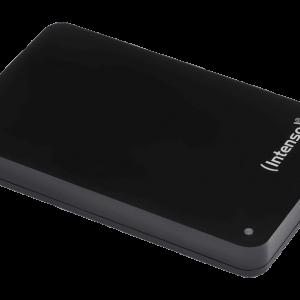INTENSO Memory Case Portable HDD 1TB USB 3.0 Black μαζί με Powerbank