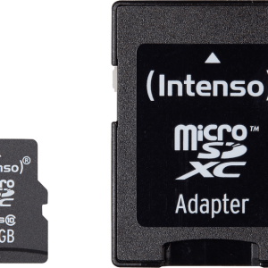 INTENSO Micro SD Card Class 10 – 64GB SDHC