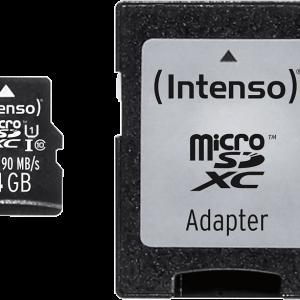 INTENSO microSD Class 10 UHS-I Professional 64 GB
