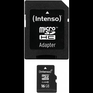 INTENSO microSDHC Class 10 16 GB