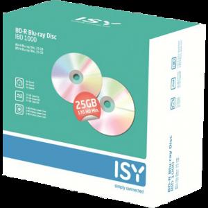 ISY BD-R 25 GB (5 τεμ.) – IBD 1000