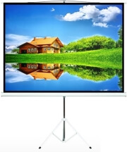 """MACLEAN MC-536 PROJECTION SCREEN WITH TRIPOD 72"""" 4:3 145X110CM"""