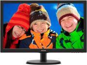 """ΟΘΟΝΗ PHILIPS 223V5LSB 21.5"""" LED FULL HD BLACK"""