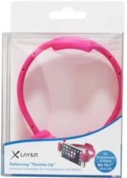 XLAYER STAND COLOUR LINE THUMBS UP PINK