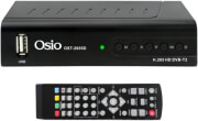 OSIO OST-2655D DVB-T/T2 FULL HD H.265 MPEG-4 USB TERRESTRIAL DIGITAL RECEIVER