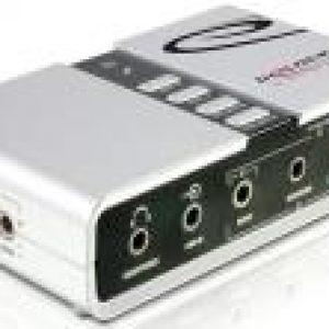 SOUND CARD DELOCK 61803 USB SOUND BOX 7.1