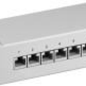 GOOBAY 93047 CAT.6 ETHERNET PATCH PANEL 8 PORT STP SHIELDED