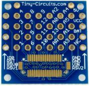 TINYSHIELD PROTO BOARD – WITHOUT TOP CONNECTOR