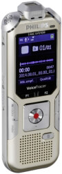 PHILIPS DVT6510 8GB VOICE TRACER AUDIO RECORDER