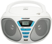 BLAUPUNKT BB5WH PORTABLE PLAYER CD/MP3/USB/AUX WITH PLL FM TUNER WHITE
