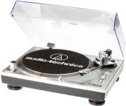 AUDIO TECHNICA AT-LP120USBHC DIRECT DRIVE PROFESSIONAL STEREO USB TURNTABLE SILVER