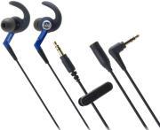 AUDIO TECHNICA ATH-CKP500 SONICSPORT IN-EAR HEADPHONES BLUE