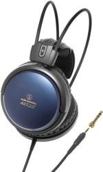 AUDIO TECHNICA ATH-A700X AUDIOPHILE CLOSED-BACK DYNAMIC HEADPHONES BLUE