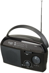 ADLER AD1119 SMALL PORTABLE RADIO