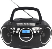 BLAUPUNKT BB16BK CC/CD/MP3/USB BOOMBOX WITH PLL FM RADIO BLACK