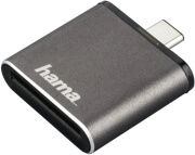 HAMA 124186 USB 3.1 CARD READER SD UHS-II USB 3.1 TYPE-C GREY