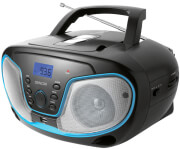 SENCOR SPT 3310 PORTABLE CD PLAYER WITH BT MP3 USB AUX AND FM RADIO