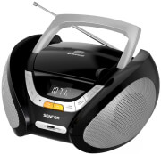 SENCOR SPT 2320 PORTABLE CD PLAYER WITH BT MP3 USB AUX AND FM RADIO