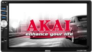 "AKAI CA-2DIN7135S CAR RADIO 7"" MULTIMEDIA WITH BLUETOOTH, MIRRORLINK, USB, SD, AUX-IN"