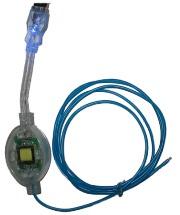 AKASA AK-15-NSBLUSB USB EXTERNAL BLUE EL STRING
