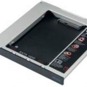 "AKASA AK-OA2SSA-BK N.STOR 2.5"" SATA HDD/SSD TO LAPTOP SATA ODD BAY"