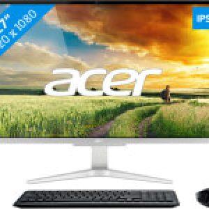 "ACER ASPIRE C27-865 I3528 NL 27"" FHD ALL-IN-ONE INTEL CORE I3-8130U 8GB 256GB SSD WIN10 HOME"