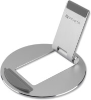 4SMARTS FOLDABLE ALUMINIUM STAND FOR TABLETS AND SMARTPHONES SILVER