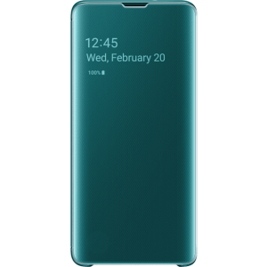 SAMSUNG Clea View Cover Galaxy S10 Green