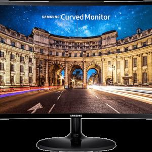 "SAMSUNG LC24F390 24"" Full HD Curved Monitor, Super Slim, Curved 1800R, Wide-view VA Panel, AMD FreeSync™"