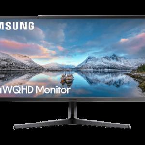 "SAMSUNG LS34J550 34"" Ultra WQHD Monitor, Ultra-Wide 21:9, Quad HD, Wide-view VA Panel, AMD FreeSync™"