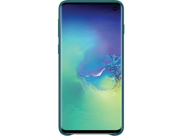 SAMSUNG Leather Cover Galaxy S10 Green