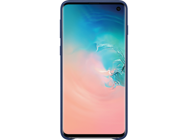 SAMSUNG Leather Cover Galaxy S10 Navy