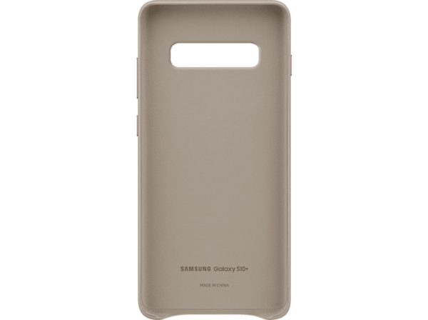 SAMSUNG Leather Cover Galaxy S10 Plus Gray
