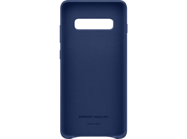 SAMSUNG Leather Cover Galaxy S10 Plus Navy