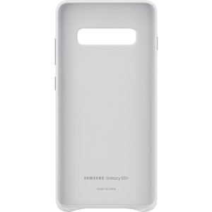 SAMSUNG Leather Cover Galaxy S10 Plus White